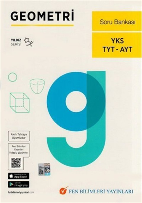 Fen Bilimleri Yayınları TYT AYT Geometri Soru Bankası Yıldız Serisi