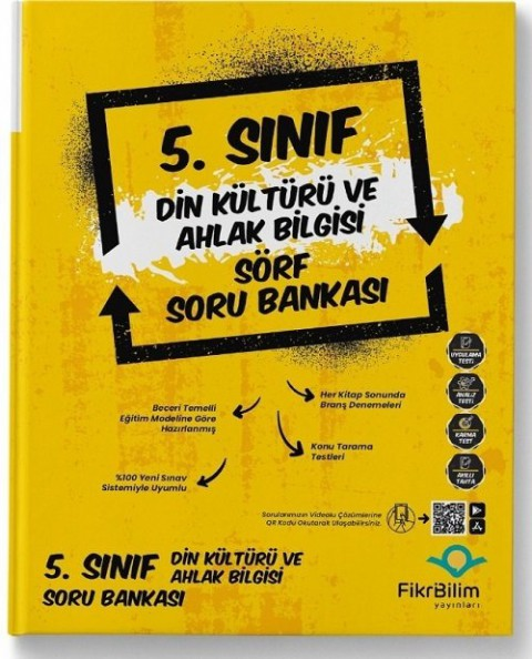 FikriBilim Yayınları 5. Sınıf Din Kültürü ve Ahlak Bilgisi Sörf Soru Bankası