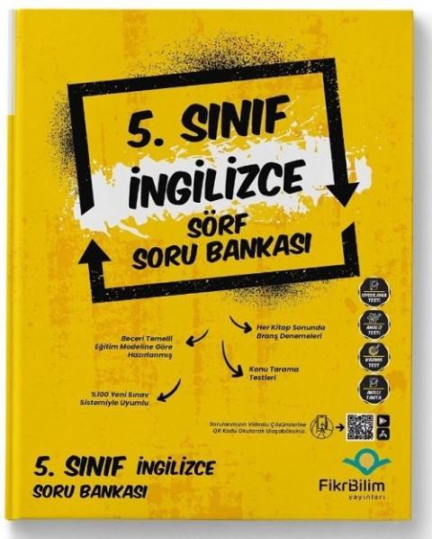 FikriBilim Yayınları 5. Sınıf İngilizce Sörf Soru Bankası Yayınları