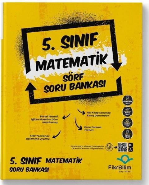 FikriBilim Yayınları 5. Sınıf Matematik Sörf Soru Bankası