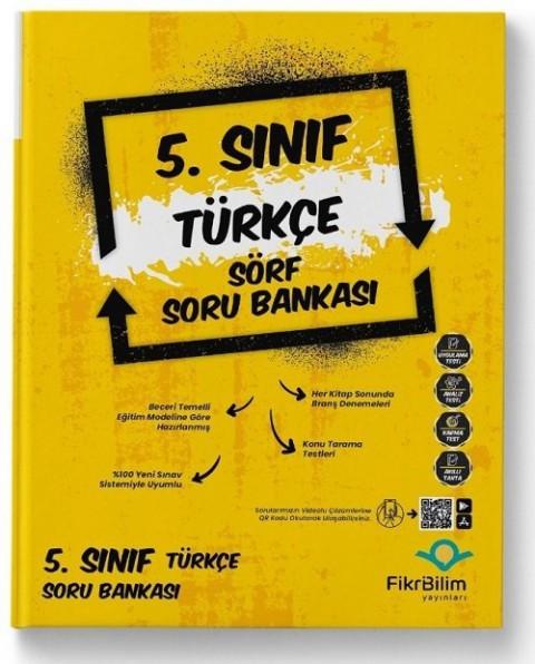 FikriBilim Yayınları 5. Sınıf Türkçe Sörf Soru Bankası
