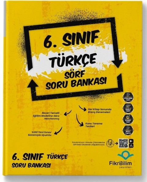 Fikri Bilim Yayınları 6. Sınıf Türkçe Sörf Soru Bankası