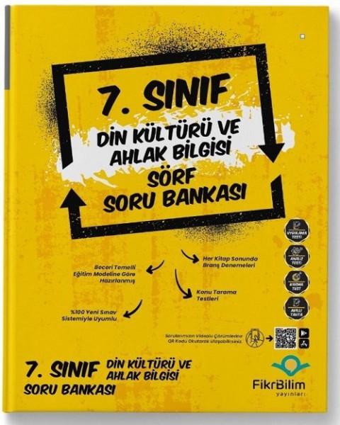 FikriBilim Yayınları 7. Sınıf Din Kültürü ve Ahlak Bilgisi Sörf Soru Bankası