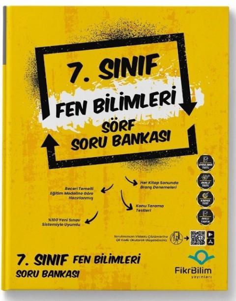 FikriBilim Yayınları 7. Sınıf Fen Bilimleri Sörf Soru Bankası