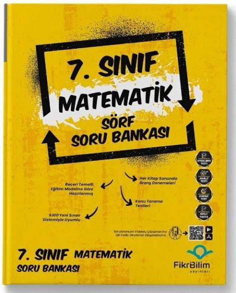 FikriBilim Yayınları 7. Sınıf Matematik Sörf Soru Bankası