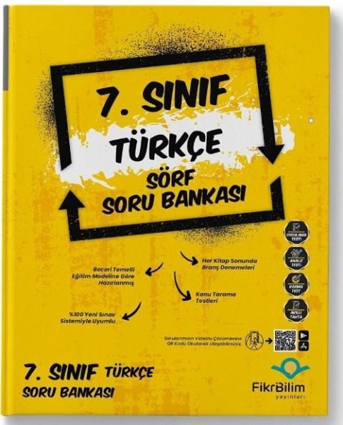FikriBilim Yayınları 7. Sınıf Türkçe Sörf Soru Bankası