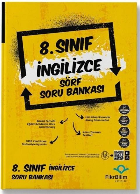 FikriBilim Yayınları 8. Sınıf İngilizce Sörf Soru Bankası