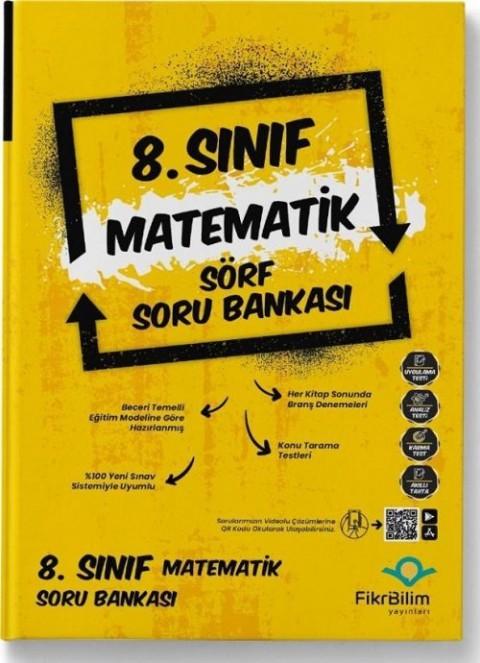 FikriBilim Yayınları 8. Sınıf Matematik Sörf Soru Bankası