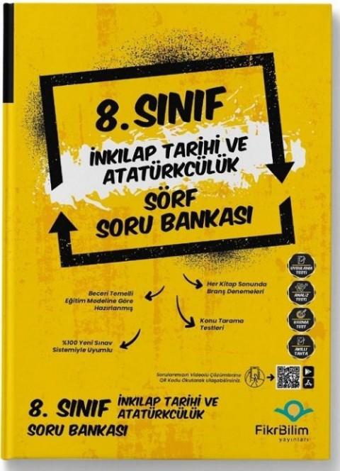 FikriBilim Yayınları 8. Sınıf T.C İnkılap Tarihi ve Atatürkçülük Sörf Soru Bankası