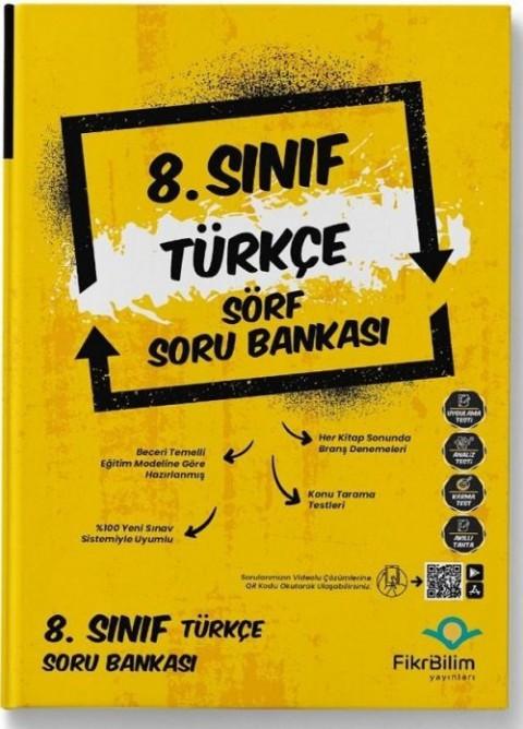 FikriBilim Yayınları 8. Sınıf Türkçe Sörf Soru Bankası