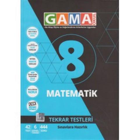 Gama Yayınları 8. Sınıf NAR Matematik Tekrar Testleri