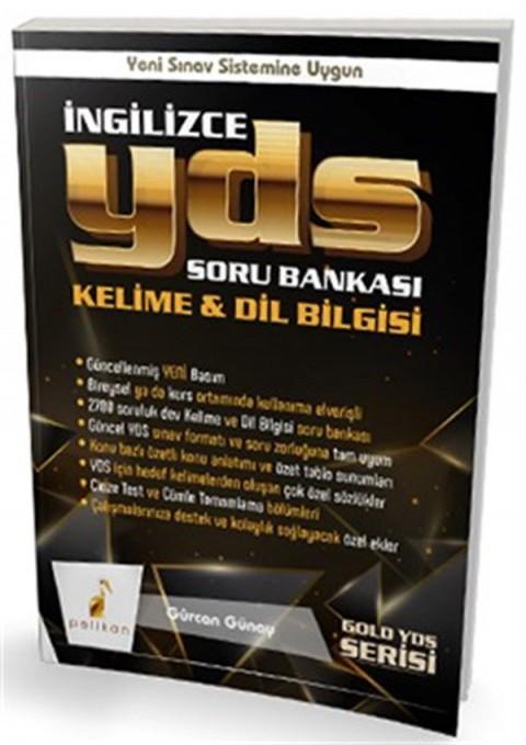 Gold Serisi İngilizce YDS Soru Bankası Kelime & Dilbilgisi Pelikan Yayınları