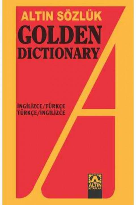 Golden Dictionary İngilizce Türkçe - Türkçe İngilizce Sözlük Tüm anlamları verilmiş 40.000'den fazla İngilizce sözcük ve deyim, 100.000'i aşkın Türkçe tanım ve açıklama