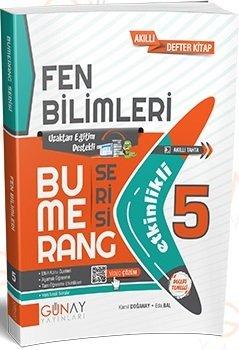 Günay Yayınları 5. Sınıf Fen Bilimleri Bumerang Soru Bankası
