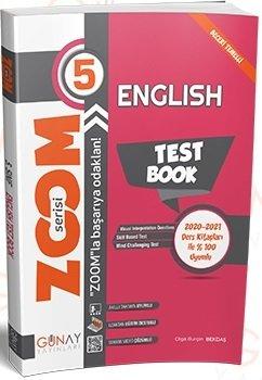 Günay Yayınları 5. Sınıf İngilizce Zoom Soru Bankası