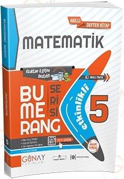 Günay Yayınları 5. Sınıf Matematik Bumerang Soru Bankası