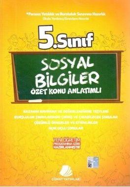 Günay Yayınları 5. Sınıf Sosyal Bilgiler Konu Özetli Soru Bankası
