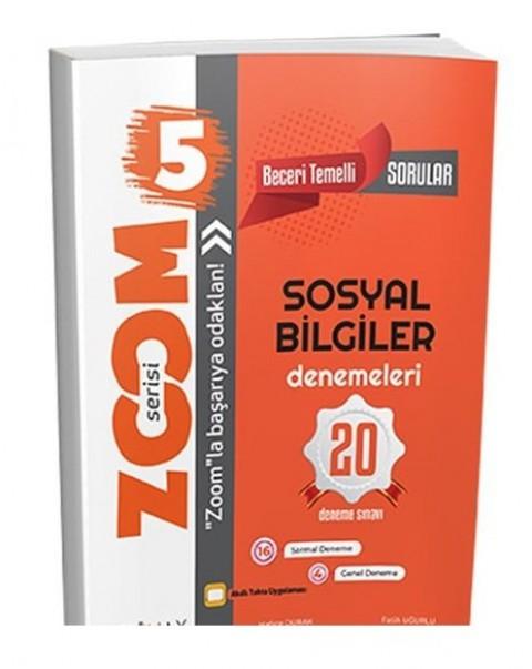 Günay Yayınları 5. Sınıf Sosyal Bilgiler Zoom 20 Deneme