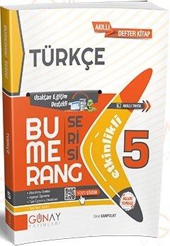 Günay Yayınları 5. Sınıf Türkçe Bumerang Soru Bankası