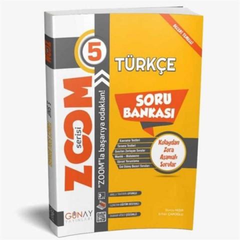 Günay Yayınları 5.Sınıf Türkçe Zoom Soru Bankası