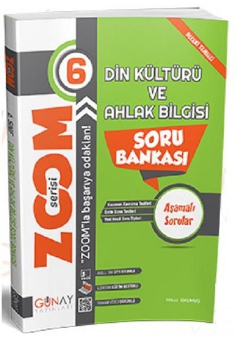 Günay Yayınları 6. Sınıf Din Kültürü ve Ahlak Bilgisi Zoom Soru Bankası