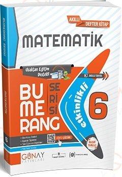 Günay Yayınları 6. Sınıf Matematik Bumerang Soru Bankası