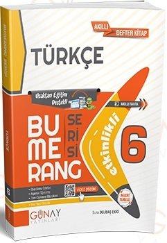 Günay Yayınları 6. Sınıf Türkçe Bumerang Soru Bankası