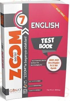 Günay Yayınları 7. Sınıf İngilizce Zoom Soru Bankası