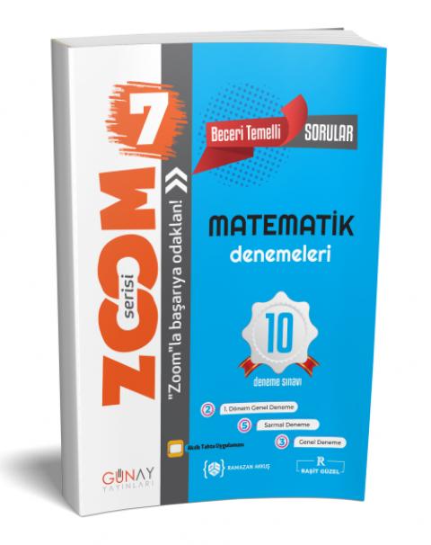 Günay Yayınları 7. Sınıf Matematik Zoom 10 Deneme