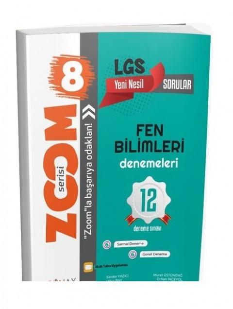 Günay Yayınları 8. Sınıf LGS Fen Bilimleri Zoom 12 Deneme