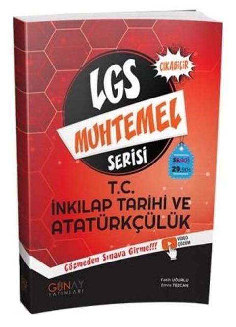 Günay Yayınları 8. Sınıf LGS TC İnkılap Tarihi ve Atatürkçülük Muhtemel Soru Bankası Video Çözümlü