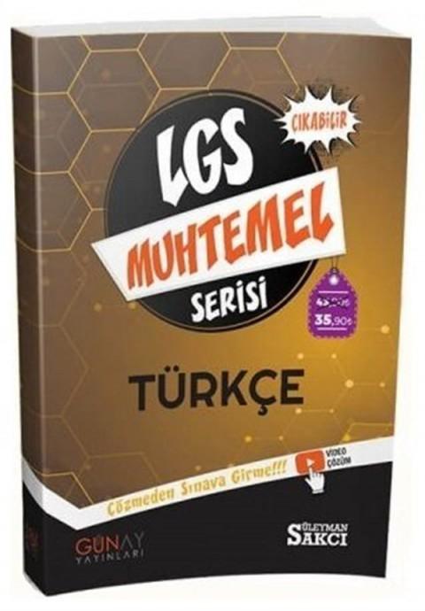 Günay Yayınları 8. Sınıf LGS Türkçe Muhtemel Soru Bankası Video Çözümlü