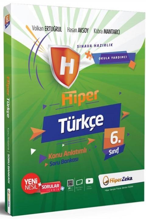 Hiper Zeka 6. Sınıf Türkçe Hiper Konu Anlatımlı Soru Bankası
