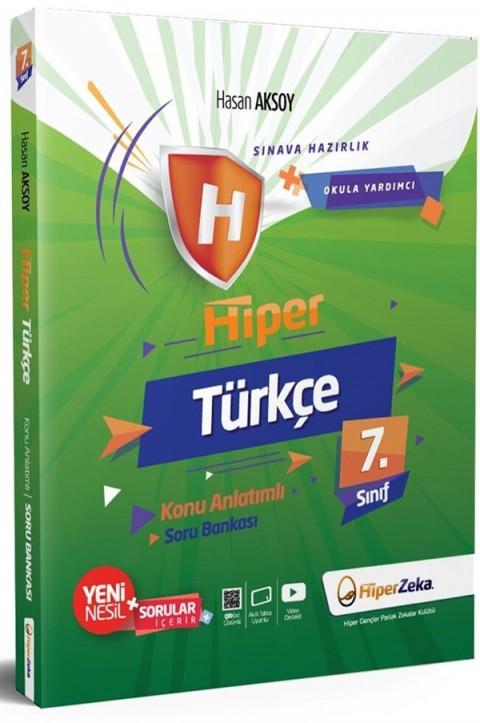 Hiper Zeka 7. Sınıf Türkçe Hiper Konu Anlatımlı Soru Bankası
