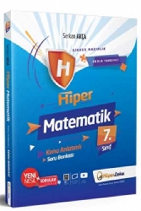 Hiper Zeka Yayınları 7. Sınıf Hiper Matematik Konu Anlatımlı Soru Bankası - Serkan Akça