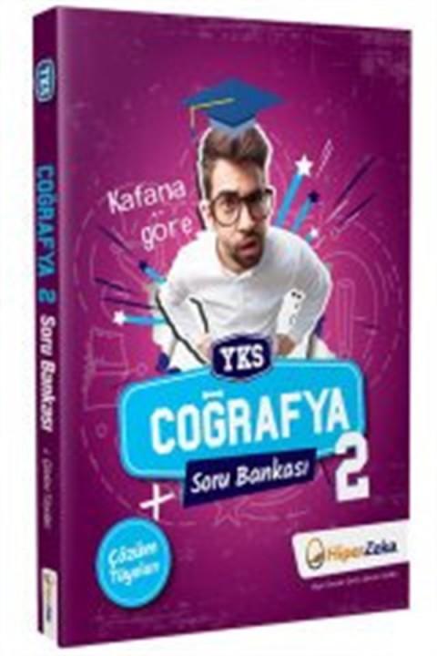 Hiper Zeka Yayınları YKS AYT Coğrafya-2 Soru Bankası