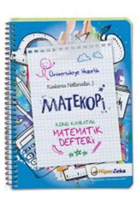 Hiper Zeka Yayınları YKS TYT MATEKOPİ Konu Kavratan Matematik Defteri