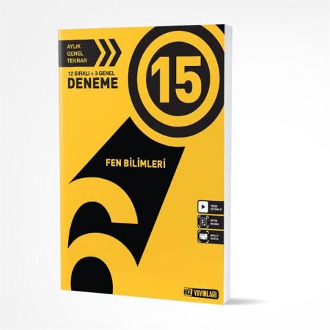 Hız Yayınları 6. Sınıf Fen Bilimleri 15 Deneme