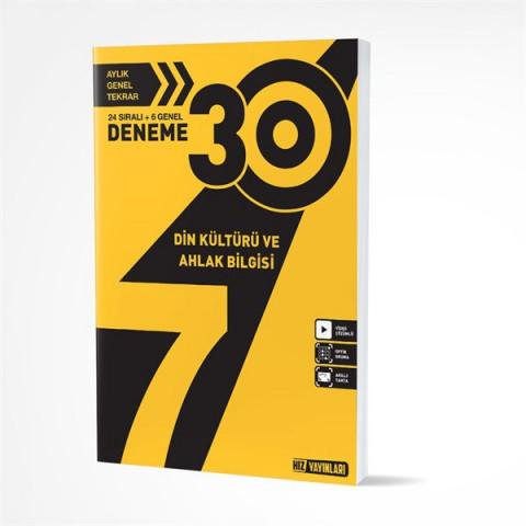 Hız Yayınları 7. Sınıf Din Kültürü 30 Deneme