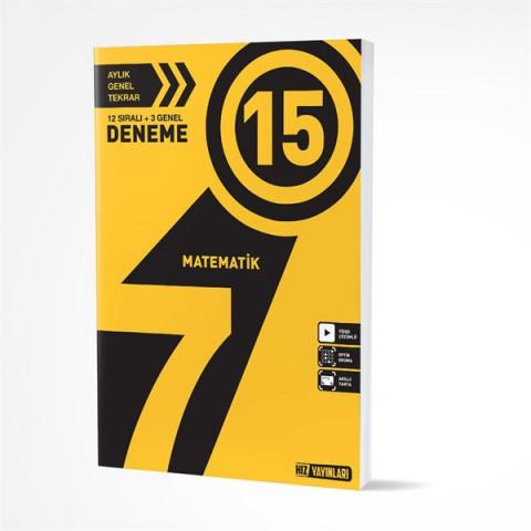 Hız Yayınları 7. Sınıf Matematik 15 Deneme