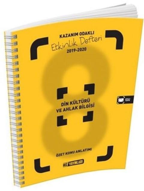 Hız Yayınları 8. Sınıf Din Kültürü ve Ahlak Bilgisi Etkinlik Defteri