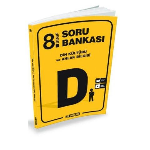 Hız Yayınları 8. Sınıf Din Kültürü ve Ahlak Bilgisi Soru Bankası