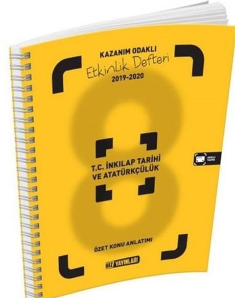 Hız Yayınları 8. Sınıf T. C İnkılap Tarihi ve Atatürkçülük Etkinlik Defteri