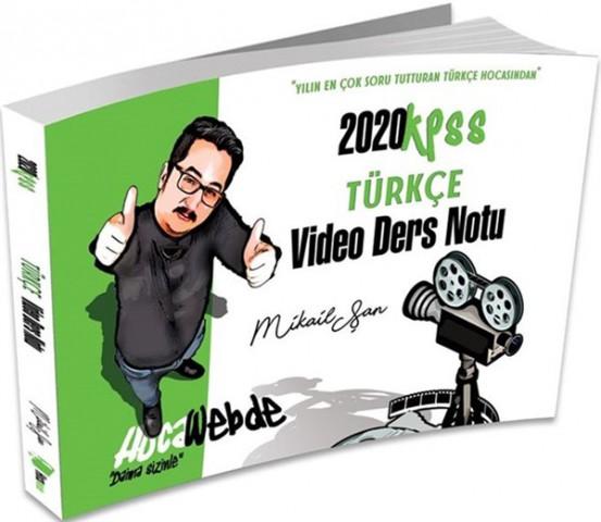 Hocawebde 2020 KPSS Türkçe Video Ders Notu