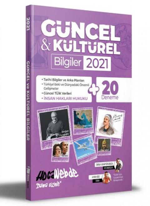Hocawebde Yayınları 2021 Güncel ve Kültürel Bilgiler - 20 Deneme İlaveli