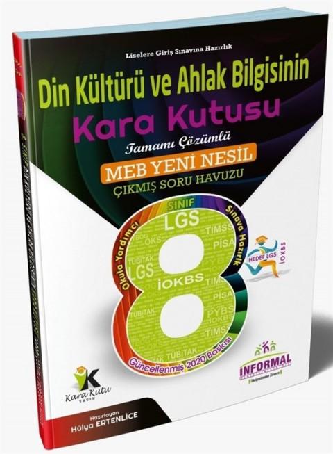 İnformal Yayınları 8. Sınıf LGS Din Kültürü ve Ahlak Bilgisinin Kara Kutusu Tamamı Çözümlü Soru Bankası