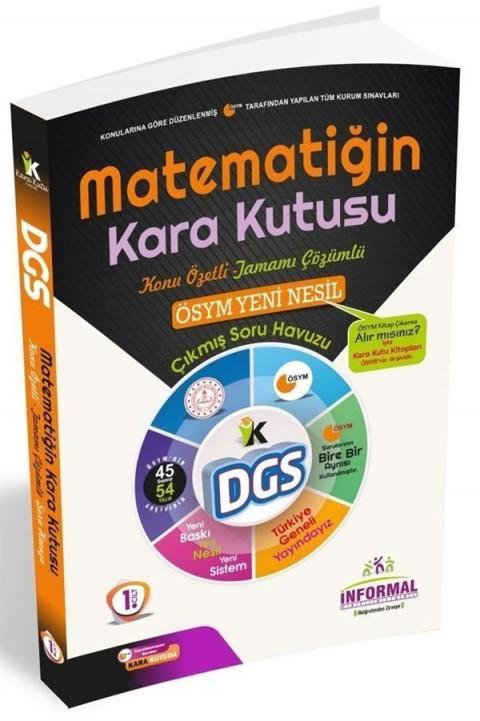 İnformal Yayınları DGS Matematiğin Kara Kutusu Konu Özetli Soru Bankası 1. Cilt