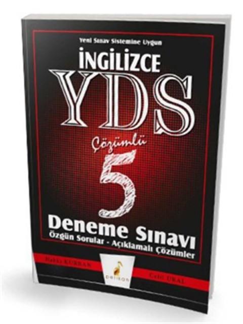 İngilizce YDS Çözümlü 5 Deneme Pelikan Yayınları
