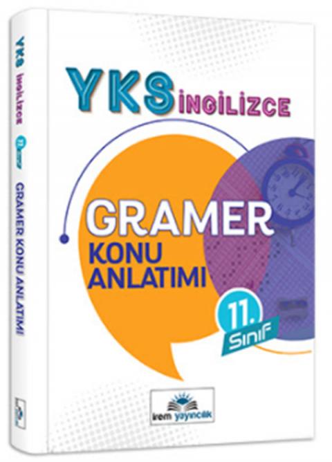 İrem Yayıncılık 11. Sınıf YKS İngilizce Gramer Konu Anlatımı