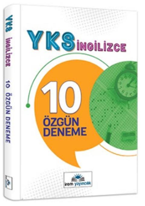 İrem Yayıncılık 12.Sınıf YKS İngilizce 10 Özgün Deneme